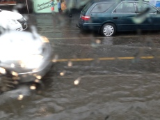 Sydney Road flash flood, September 9, 2014. Pic: Matt Holden CC ND SA BY