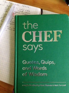 Cover of The Chef Says