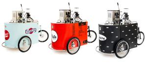 Velopresso coffee trikes